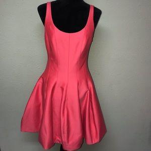 🆕 Halston Heritage Silk Faille Tulip Dress